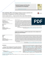 PAPER 7 the Mediating Effect of Strategic Human Resource Practices on Knowledge Management and Firm Performance
