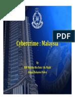 DSP Mahfuz Majid Cybercrime Malaysia
