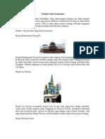 7 Mesjid Unik Di Indonesia
