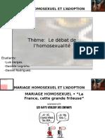 Revue de Presse l'Homosexualité