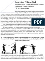 E.W Barton-Wright - Bartitsu Stick Fighting
