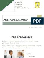 Pre Operatorio