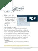 Models &Best Practices in Professional Development