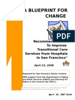 transitional care blueprint - April 23, 2008