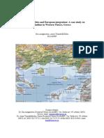 Anagnostou-Triantaphylidou Regions, Minorities and European Integration 2006