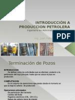 Introducción a Produccion Petrolera