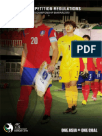 Afc u19 Championship 2016 Regulations