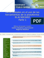Instructivo Blackboard Curso de Tutor Parte 1