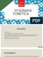 Ortografía Fonética