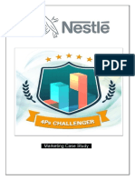 Nestlé 4Ps Challenger Marketing Case Study