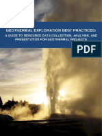IFC-IGA Geothermal Exploration Best Practices-March2013