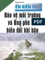 Bảo vệ môi trường và ứng phó với biến đổi khí hậu