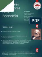 Principales Pensadores de La Economía