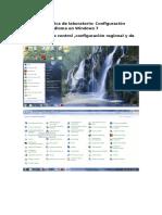 5.3.2.24 Práctica de Laboratorio Configuración Regional y de Idioma en Windows 7