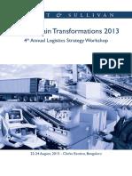 4th Annual Logistics Strategy Workshop-Brochure