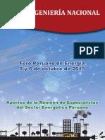 Foro Peruano de Energia