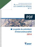 Guide Du President d'Epci 2014