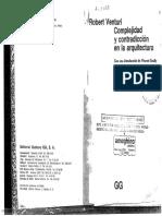 168. Complejidad y Contradicción en La Arquitectura - Robert Venturi