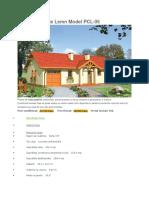 Proiect Casa de Lemn Model PCL