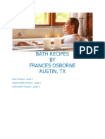 Bath Recipes