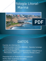 Morfología Litoral Marina