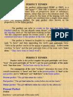 Perfect Tenses