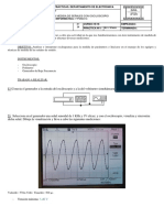 1º Práctica Medida de Señales Con Osciloscopio