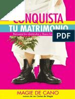 Conquista Tu Matrimonio Magie de Cano Libro Digital GRATIS