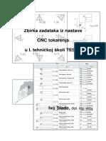 Zbirka Zadataka Iz Nastave CNC