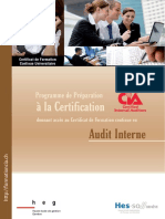 Flyer Audit Interne 2016 2017