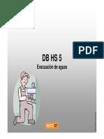 CTE DB HS5Saneamiento