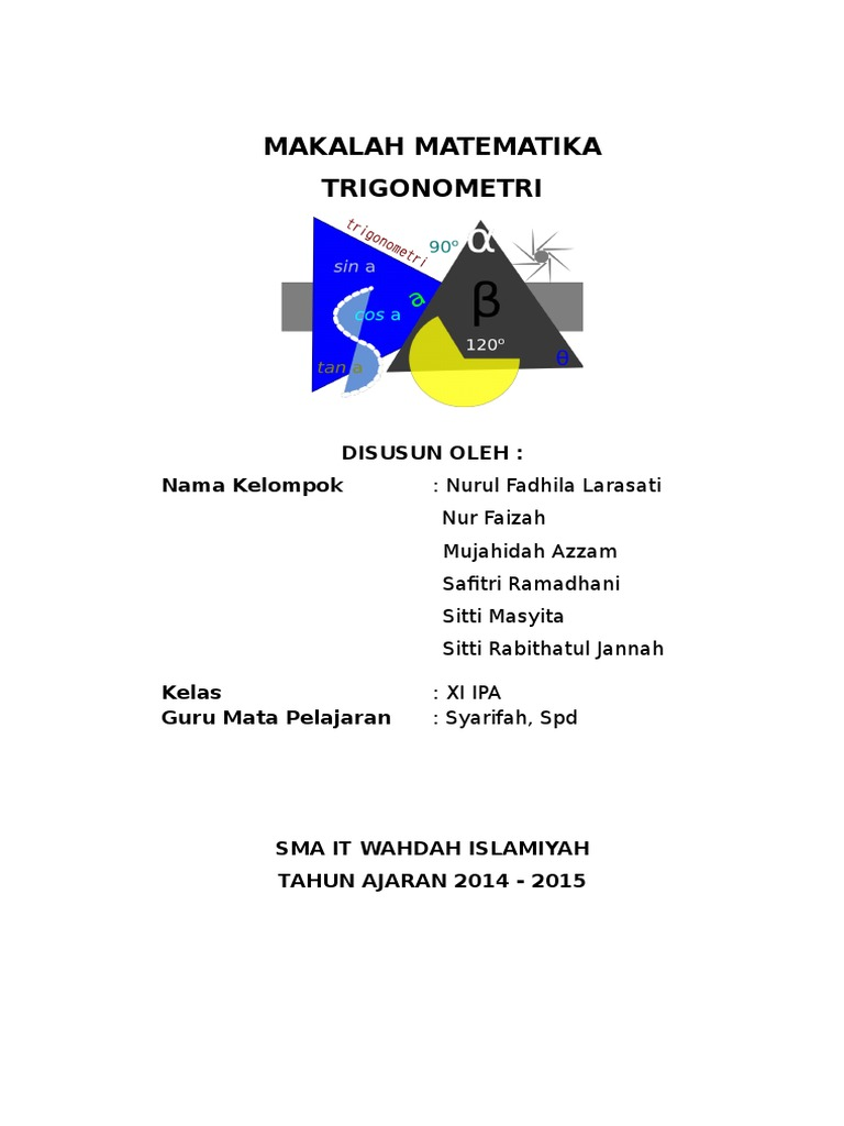 MAKALAH Trigonometri