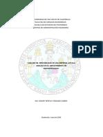 ANÁLISIS DE RENTABILIDAD DE UNA EMPRESA AVÍCOLA UBICADA EN EL DEPARTEMENTO DE HUEHUETENANGO
