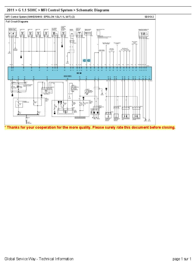 Hyundai I10 Wiring Diagrams Diagrama I10rhscribdcomdesign