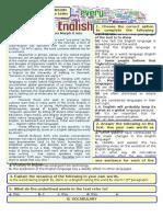 Global English - Test