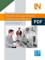 Sistema de Capacitacion Profesional Industrie 4.0 Flyer (1)