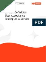 UAT as a Service