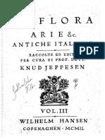 La Flora - Arie Antiche Italiane Vol. 3