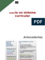 Sistema Curricular General