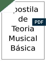 Apostila de Teoria Musical Básica
