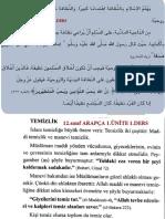 12 Arapça Ünite1 Ders1 Ihl