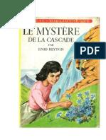 Blyton Enid Le mystère de la cascade