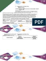 Guía de Actividades y Rubrica de Evaluación- Tarea 2 y Tarea 4
