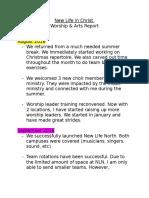 Vision Board Report