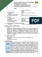 Ingeniería Agroindustrial III 2016 II