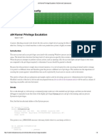 x64 Kernel Privilege Escalation