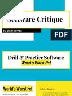 edel594 software critique artifact