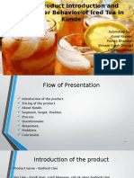 New Product Introduction and Consumer Behavior of Iced Tea in Kunde