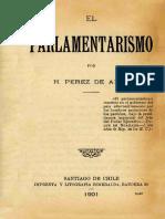 Parlamentarismo historia constitucional, Chile 1891, análisis al sistema