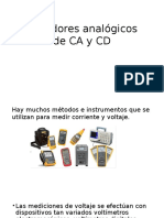 Medidores Analógicos de CA y CD